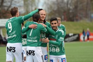 Anton Lundin gjorde sitt fjärde mål för säsongen.