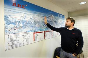 Enligt Niclas Sjögren Berg har Åre svårt att locka en del målgrupper som är vana att vistas på orter som har de riktigt pistnära boendena. Nu har Åre chansen att få ett område som kan locka många internationella gäster och fritidshusköpare.