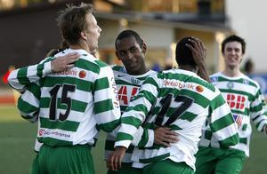 2008. Jonas Stark, Kalle Ljungberg, Temesgen Berhane och Robin Blommé.