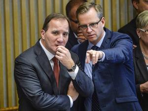 Nu ska statsminister Stefan Löfven (S) och näringsminister Mikael Damberg (S) staka ut vägen för näringslivet.