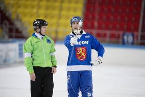 Samuli Helavuoris Finland blev överkört i semifinalen.