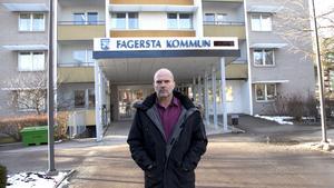 Harold Nilsson, förbundschef på NVK i Fagersta.  Arkivbild: Robin Högberg/Fagersta-Posten