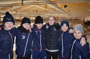 Emil Danerhag, Bror Pettersson, Felix Norling, Hampus Torstensson, William Hult och Noah Gustafves från Borlänge Hockey slutade fyra i turneringen.