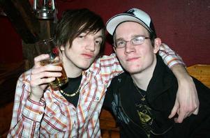 Konrad. David och Joakim