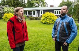 Anna Zaar Andersson och Mikael Andersson fortsätter kämpa emot att kommunen ska få tillträde till deras mark.