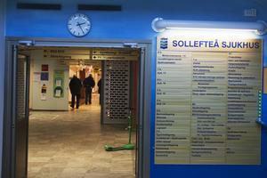 En vecka för en stafettläkare kostar 200 000 kronor vid kvinnokliniken vid Sollefteå sjukhus.