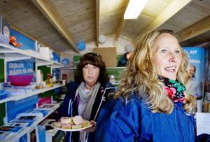 Susanné Wallner (M) har varit politiskt aktiv den gånga mandatperioden. I det här valet står hon står på en fjärdeplats på partiet lista i Östersunds kommun. Hon har varit i valstugan två dagar den gånga veckan och fanns också på plats på lördagen.