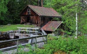 Vattnet, dammarna, de gamla byggnaderna och naturen gör Kvarna till en natur- och kulturoas. Foto: Arkiv