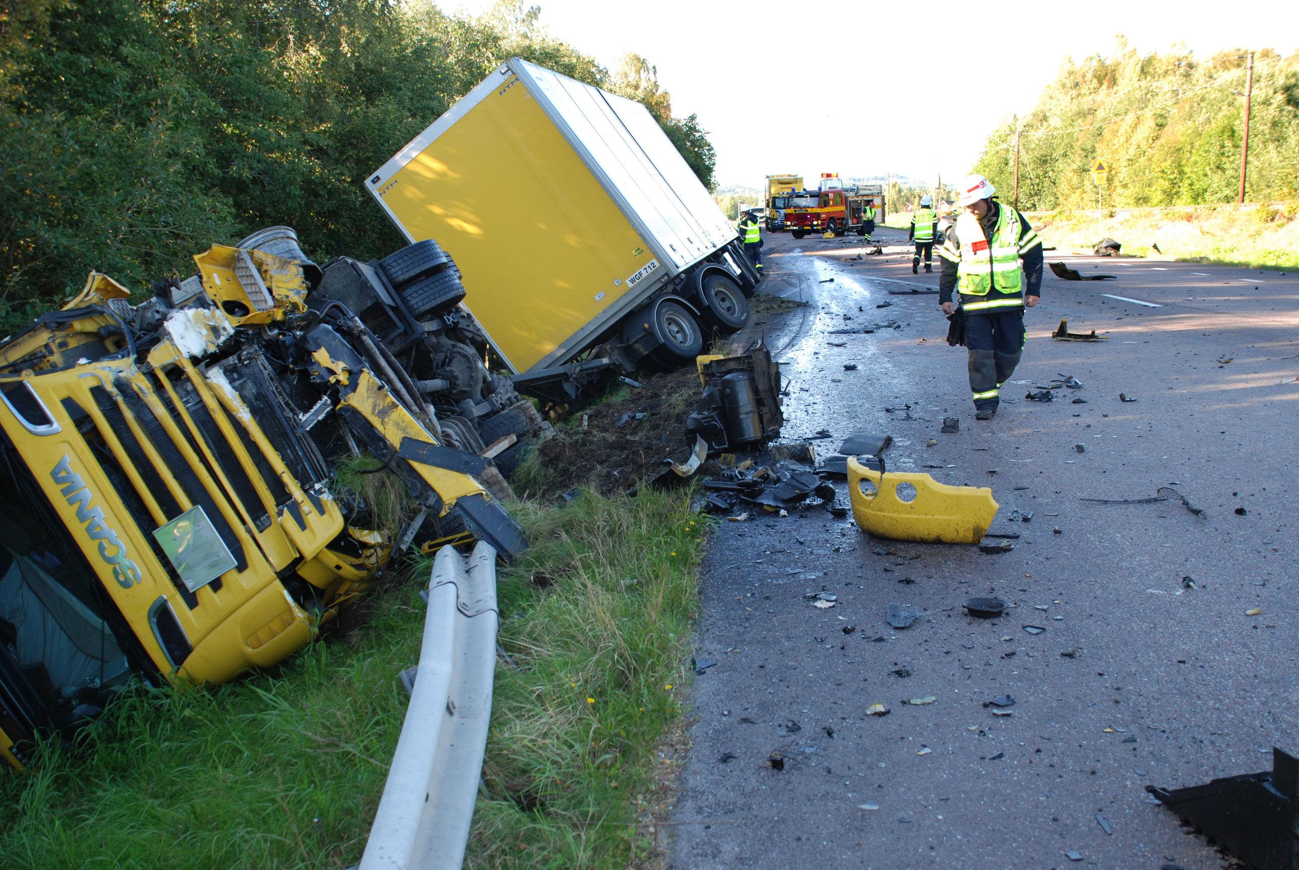 Svar trafikolycka i dalarna