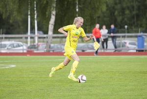 Anna Hammergård hoppade in med en halvtimme kvar att spela – och krönte sin comeback med att bli målskytt.