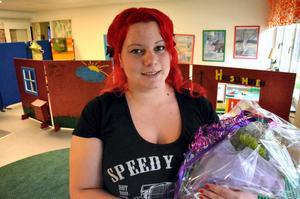 Emma Edman, engagerad i Mullhyttans IF fick Ungdomsledarpriset 2014.Foto: Peter Eriksson