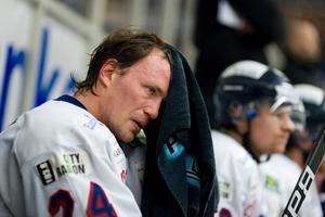 Kristofer Näslunds mål och assist mot Leksand räckte inte till poäng.