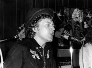 Ulf Lundell på Prisma i Örebro, 1973.