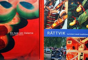 Böcker om Dalarna och Rättvik är populära.