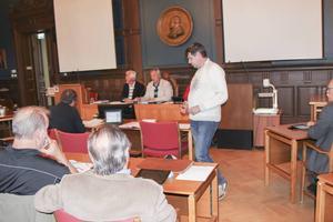 Peter Ohlsson (C) har just välkomnat förslaget om HBT-certifiering.