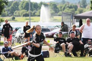 Vinnarslag. Band Of Ballers var starkast av alla i Brännbollsyran.