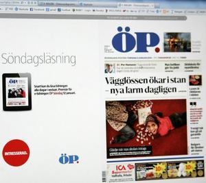 Och så kan du läsa ÖP:s e-tidning.