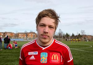 Andreas Lindström är kvitt sin knäskada han ådrog sig mot Akropolis.