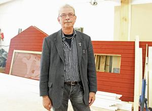 Sven Sandström är chef för kommunens Ta-till-vara- verksamhet i Borlänge.