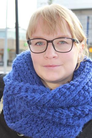 Sanna Krantz är ny skolinformatör för Föreningen Ung Företagsamhet.