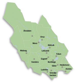 Ska det bli några kommunsammanslagningar så får staten rita kartan, skriver Lars Isacsson (S), Kommunstyrelsens ordförande i Avesta Kommun. Foto: Arkiv