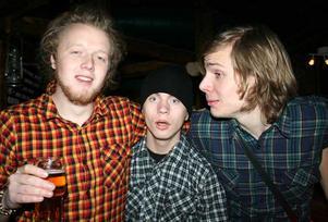 Konrad. Robin, Jakob och Frank
