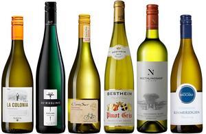 Fynd bland nya årgångarna på Systemet. Sex mycket goda och representativa vita viner för sina druvor och stilar.