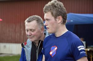 Andreas Calleberg fixade segern till Rehns lag 1.