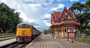 Åk på en utflykt från Bangkok till hua Hin.