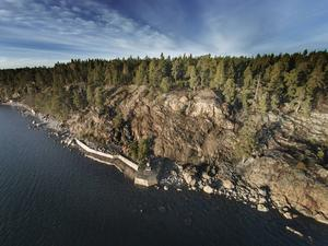 Gråberget ligger i Gävlebuktens inlopp på Norrlandet.