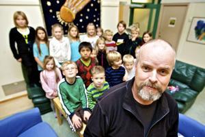 Slättasskolans fritidsavdelning Jorden har 130 inskrivna barn.