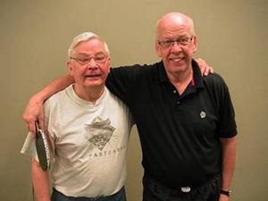 Lars Bäckström och Hans Eliasson