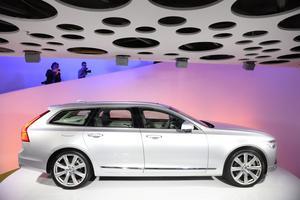 Volvo nya modell Volvo V90