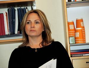 Monica Lundin (L) vill införa trygghetsvakter.