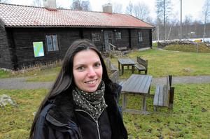 Steffanie Knospe brinner av entusiasm inför att få öppna Sockenstugan kommande säsong.