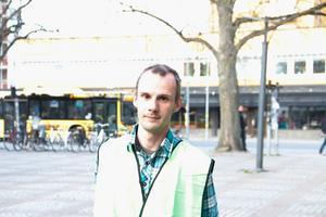 Rikard Urdshals, operativ chef i Gävleborg för Missing people Sweden.