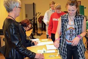 I slutet av förra veckan gick eleverna till val.