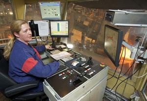 Susanna Hansson gillar vindkraften för det räddar jobben i Hofors