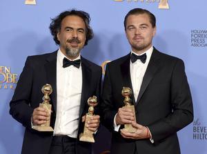 Alejandro Iñárritu och Leonardo DiCaprio tog hem tunga priser för filmen