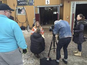 Matilda Persson har varit i centrum inför debuten.