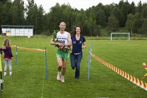 Anders Dahl från Högbo AIK tog hem den längsta distansen på 13 kilometer.