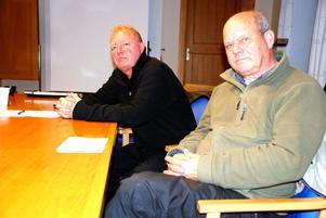 Hans Nyberg, (M) vice ordförande i Rättviks Fastigheters styrelse och Björn Guström, (FP) ordförande i styrelsen arbetar för bolagets framtid och för en ekonomi i balans.