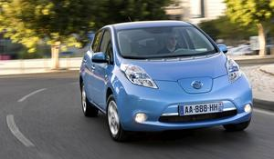 Bildtext 13: Nissan Leaf.    Foto: Nissan