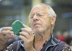 Peter Fels, ordförande för VAGS, Västerås amatörgeologiska sällskap som arrangerar mässan, var nöjd med dagen.