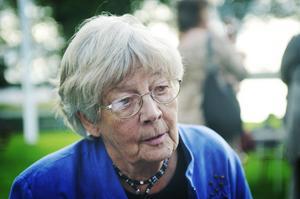 Margit Enarsson, barnmorska, jobbade den allra sista dagen innan BB slutligen stängdes.