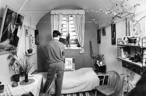 Fängelset i Västerås. Fotodatum 25 januari 1964.