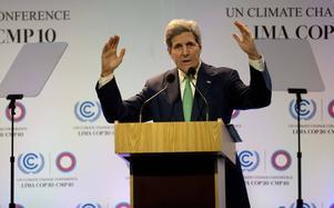 USA:s utrikesminister John Kerry anländer till Lima i torsdags för att vara på plats under förhandlingarnas sista dagar. Det är ovanligt att USA skickar sin utrikesminister. Men så är inte John Kerry heller vilken utrikesminister som helst  –  han har ett omvittnat intresse för klimatfrågor.