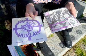 Det handlade mycket om musik på Humlan och man gav ut två skivor som såldes för välgörande ändamål.