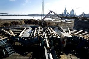Kastet sågverk i Gävle ägs av Setra Group. Foto: Arkiv