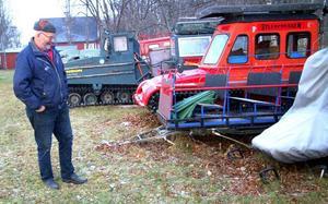 Det var ett hårt slag för Börje Jonsson, som kört turister med Sylexpressen till Blåhammaren och Sylarna prickfritt i 18 år, när han i vintras förlorade sin dispens. Efter en lång kamp mot Länsstyrelsen genom rättsinstanserna har han nu fått rätt i Kammarrätten.Foto: Elisabet Rydell-Janson